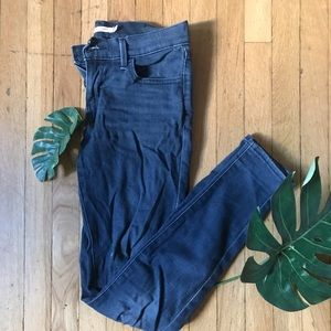 Levi dark blue skinny jeans